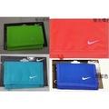 NIKE尼龍錢包 (螢光橘色 寶藍色 螢光綠色 水藍色) 皮夾 運動錢包 短夾 正品