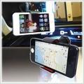 【aife life】車用吸盤手機架-單夾/車用吸盤手機架/車用手機架/二用手機架/真空吸盤手機架/GPS導航/桌用手機架