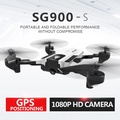 SG900-S GPS Drone with camera HD 1080P Professional FPV Wifi RC Drones Altitude Hold Auto Return Dr