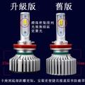 3色LED變色 五段式 爆閃 交叉流水 三色LED 3色大燈 LED大燈 霧燈 白光 黃光 白黃光 H4 H11 H1