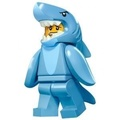 LEGO 樂高 71011 人偶包 鯊魚人