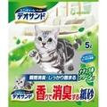 日本 UNICHARM 嬌聯 消臭大師消臭紙砂 森林香 5L 貓砂 貓沙 環保貓砂