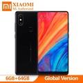 Original Xiao mi Mi Mix 2S LTE 6GB + 128GB Smartphone 4G Phablet Qualcomm Snapdragon 845 Octa Core 6GB + 128GB