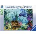 德國Ravensburger維寶海豚1500片拼圖(162789)