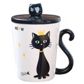 400ml Cute Cat Cafe Coffee Mug Drinking Cups Ceramic Milk Breakfast Mugs Water Tea Cup Drinkware