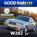 歐洲原裝進口GOODRAIN Mercedes Benz W202 賓士專用雨刷