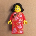 LEGO 80101 樂高 團圓飯 女孩人仔 旗袍