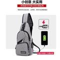 2018正品 MeiJieLuo多功能 單肩包 胸包 後背包 充電包 休閒包 電腦包 騎行背包 韓版