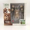 。海洋堂 熊麻吉2 TED2 泰迪熊 PVC 完成品。