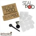 [學院咖啡] SealPod 不鏽鋼咖啡膠囊 (1入) 環保 重複使用 / 支援 Nespresso 指定系列
