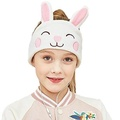 Kids Headphones - Easy Adjustable Kids costume Headband SILKY Headphones for Children, Perfect for Travel and Home - Rabbit - intl