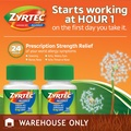 Zyrtec Allergy 10 mg. 100 Tablets