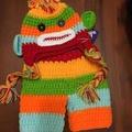 全新嬰兒猴子造型服