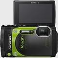 OLYMPUS TG-870 防水相機 (公司貨)-加送32G卡+專用電池+專用座充+飄浮手腕帶+清潔組+小腳架+讀卡機+保護貼+原廠硬殼包-綠色