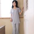 【華歌爾睡衣】冰涼紗 居家休閒 M-LL 短袖睡衣褲裝(點點灰)-舒適睡衣-柔膚手感-快乾特性