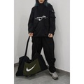 秋冬新款 Nike半拉鍊多口袋機能風衣 可變成托特包 衝鋒衣 nike ma1