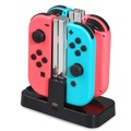 DOBE Portable Charging Dock Charger Apdater for Nintendo Switch Joy-Con/Pro Controller