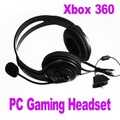 Gaming Headset With Microphone Mic for Xbox 360 Xbox360 Gaming Live Black - intl