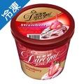 杜老爺SUPER草莓冰淇淋672±15g/桶