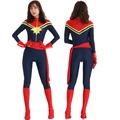 復仇者聯盟4萬聖節成人驚奇隊長服裝Captain Marve連體緊身衣服
