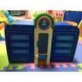 二手正版TAYO手提軌道玩具收納箱