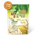 【悅兒樂婦幼用品舘】NAEBRO 韓國 香蕉口味米糕爆米花40g