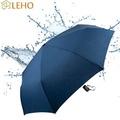LEHO《悠。時光》杜邦防潑水自動開收傘(靛夜藍)