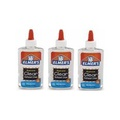 Elmer's Liquid School Glue, Clear, Washable, 266ml each , 3 packs