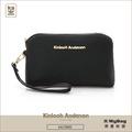 Kinloch Anderson 金安德森 皮夾 KATE 星空黑 經典輕巧拉鍊手拿包 KA176005 得意時袋