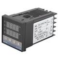 2路AC 110-240V數字LED PID溫度控制器套件0-400℃+ 25A SSR