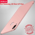 NUBULA For Samsung Galaxy A8 Star A9 Star Case 360 degrees Ultra-thin PC Hard Shell back Cover For Samsung Galaxy A8 Star A9 Star