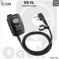 【中區無線電 對講機】ICOM VS-1L 原廠手持麥克風托咪 VOX聲控 IC-F4023 IC-F21 IC-F11