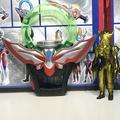 歐布奧特曼 變身器 圓環聖劍DX卡片融合卡怪獸召喚器套裝男孩玩具