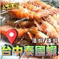 大贏蝦 台中 活蝦 烤蝦 泰國蝦 公蝦 母蝦 泰國公蝦 泰國母蝦 冷凍蝦 (下單前請先詢問)