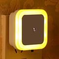 【天天雜貨鋪】LED光感小夜燈可愛暖人小白兔KT貓卡通小夜燈帶開關控插電夜光床頭插座燈節能感應光控燈