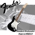 【非凡樂器】Fender Standard Stratocaster mexico 電吉他【原廠保固/黑色】墨西哥廠