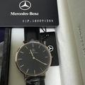 賓士 Mercedes-Benz紳士皮革手錶