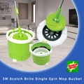 CNY PROMO 3M Scotch Brite Single Spin Mop Bucket