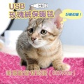 【睡眠達人irest】USB寵物保暖毯(三色可選)日本進口碳素發熱纖維,美國歐盟安全雙認證(1入)