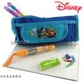 Disney迪士尼小熊維尼Winne the Pooh 筆袋化妝包-藍色