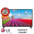 LG 49 inch Smart LED TV 49LJ550T * 3 YEARS LOCAL WARRANTY