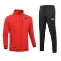 現貨 Adidas 愛迪達 休閒運動套裝  套裝 長袖開衫外套+休閒運動長褲 慢跑褲男士休閒運動套裝51783