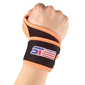 ShuoXin SX599 Monolithic Sports Gym Elastic Stretchy Wrist Guard Protector - 1PC