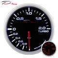 【D Racing三環錶/改裝錶】WA簡易雙色系列。52mm 渦輪錶。渦輪增壓表Boost。錶頭無設定功能。。