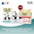 Olay Magnemasks Infusion Whitening Mask Starter Kit 50g + Magnetic Infuser 1 Count