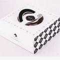 8吋 波士頓派盒 鹹派盒 布丁盒(附銀盤)