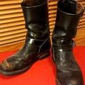 Red Wing 2268 PT91 茶芯 工程師靴 機車靴 8D 古着 Vintage