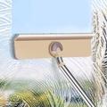 下殺雙面擦窗器擦玻璃神器◑(可刮可擦)擦玻璃神器長桿伸縮桿擦窗清潔器
