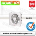 KDK Window Mounted Ventilating Fan 20cm 20AUH(Residential Use)