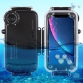 PULUZ iPhone XR Waterproof Diving Case 40m/130ft Waterproof Cover Photo Video Taking Underwater iPhone Cover Case for iPhone XR